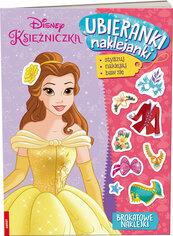 Disney Księżniczka Ubieranki naklejanki