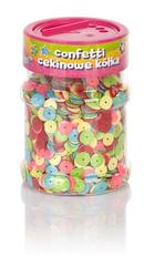 Confetti cekinowe kółka mix kol 100g ASTRA Creativo