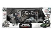 Zestaw wojskowy z pojazdami TOYS FOR BOYS 157240 ARTYK