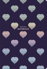 Brulion A5 80k kratka kremowy papier Personal notebook