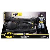 "Batman Batmobil 12"" z figurką 6058417 p2 Spin Master"