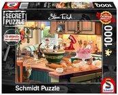 Puzzle PQ 1000 Secret Puzzle Przy kuchennym stole