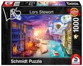 Puzzle PQ 1000 Lars Stewart Wenecja dzień/noc G3