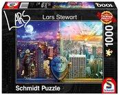 Puzzle PQ 1000 Lars Stewart Nowy Jork dzień/noc G3