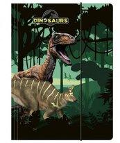 Teczka z gumką A4 Dinozaur DERFORM