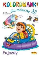 Kolorowanki dla malucha - Pojazdy