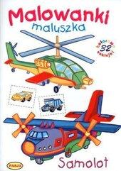 Malowanki maluszka. Samolot