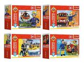 Puzzle 20el MiniMaxi Bohaterski strażak Sam Trefl 21112 / 21113 / 21114 / 21115