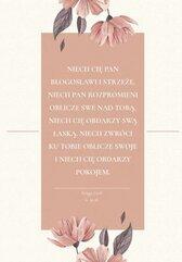 Notes B6 - Błogosławieństwo różowe