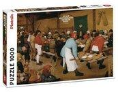 Puzzle 1000 Brueghel Chłopskie wesele