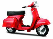 MI 39540-34 Scooters Vespa GTR 1968 czerwony 1:18
