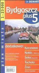 Bydgoszcz +5 plan miasta 1:23 000