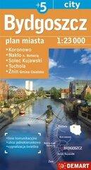 Plan miasta Bydgoszcz +5 1:23 000 DEMART