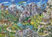 Puzzle 1000 Miasto królików