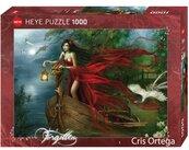 Puzzle 1000 Piekność z łabędziami