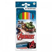 Kredki ołówkowe 12kol. Avengers. STARPAK