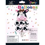 Zestaw balonów Krówka 30-70 cm 7 szt. BCS-624