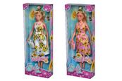 Lalka Steffi w słonecznikowej sukience 2 wzory Simba cena za 1 szt