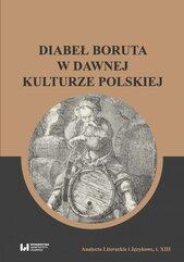 Diabeł Boruta w dawnej kulturze polskiej