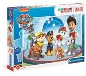 Puzzle 24 Maxi Super Kolor Psi Patrol