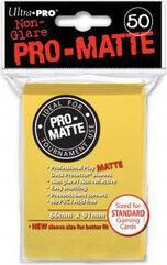 ULTRA-PRO Deck Protector - Pro-Matte Non-Glare Yellow (Żółte) 50 szt.