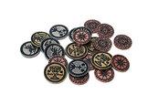 Metalowe monety - Camelot (zestaw 24 monet)