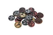 Metalowe monety - Czarodziejskie (zestaw 24 monet)