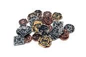 Metalowe monety - Kosmiczne jednostki (zestaw 24 monet)