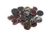 Metalowe monety - Wilkołackie (zestaw 24 monet)