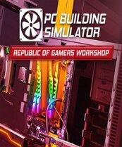 PC Building Simulator - Republic of Gamers Workshop (PC) Klucz Steam