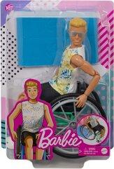 Barbie. Lalka ken na wózku inwalidzkim