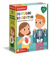 Clementoni - Anatomia dla malucha - Na zewnątrz i wewnątrz