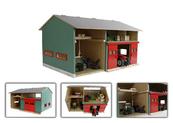 Warsztat garaż z drzwiami 41x54x32cm 1:32