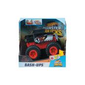 Hot Wheels Monster Trucks Pojazd z kraksą 1:43 GCF94 MATTEL mix