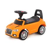 """Polesie 84569 Samochód-jeździk """"SuperCar"""" Nr2 z sygnałem dźwiękowym (pomarańczowy)"""