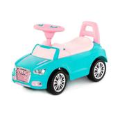 """Polesie 84576 Samochód-jeździk """"SuperCar"""" Nr2 z sygnałem dźwiękowym (turkusowy)"""