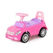 """Polesie 84491 Samochód-jeździk """"SuperCar"""" Nr3 z sygnałem dźwiękowym (różowy)"""