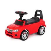 """Polesie 84583 Samochód-jeździk """"SuperCar"""" Nr5 z sygnałem dźwiękowym (czerwony)"""