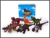 Dinozaur z dźwiękiem 6 wzorów 29-35cm. p6 HIPO cena za 1 sztukę