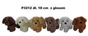 Pies z głosem 6 kolorów 18 cm Cena za 1szt