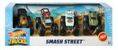 Hot Wheels Monster Trucks Pojazdy 4-pak 1:64 mix GBP23 p6 MATTEL