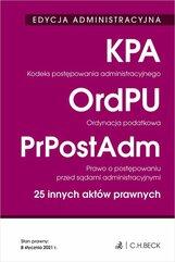 Edycja administracyjna Kodeks postępowania administracyjnego Ordynacja podatkowa