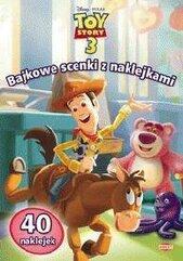 Bajkowe scenki z naklejkami - Toy Story 3