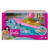 Barbie lalka + motorówka