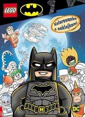 LEGO(R) Batman Kolorowanka z Naklejkami