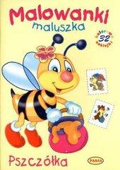 Malowanki maluszka. Pszczółka