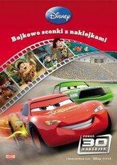 Bajkowe scenki z naklejkami - Filmy Disney/Pixa