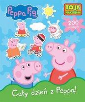 Świnka Peppa. To ja naklejam. Cały dzień z Peppą!