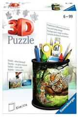 Puzzle 3D 54el przybornik Dzika przyroda 112630 RAVENSBURGER