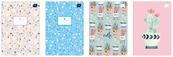 Zeszyt A5 32k 3-linia kolorowa 70g Trends Girls p.10 INTERDRUK cena za 1 sztukę